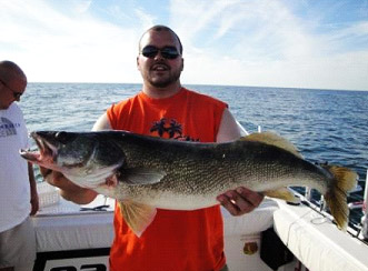 Lake erie walleye steelhead perch ashtabula ohio for Lake erie perch fishing report central basin